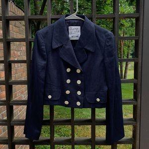 Moschino Double Breasted Blazer Jacket